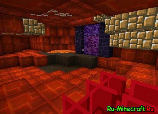 The Minestonium Resource pack - простой и квадратный(!) ресурспак [1.11.2][16x]