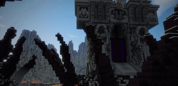 World Of Warcraft The Dark Portal - портал [Map]