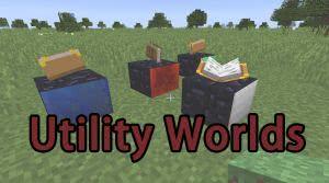 Utility Worlds - доп. миры [1.12.2] [1.11.2] [1.10.2] [1.9.4] [1.8.9] [1.7.10]
