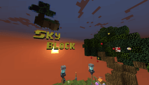 SkyBlock on Command Blocks - СкайБлок на командных блоках [Map][1.8+]