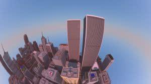 Titan City - карта с огромным современным городом