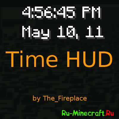 Time HUD - время в игре [1.12.2] [1.11.2] [1.10.2] [1.8.9] [1.7.10]