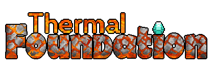 Thermal Foundation - апи мода, ядро [1.15.2] [1.12.2] [1.11.2] [1.10.2] [1.7.10]