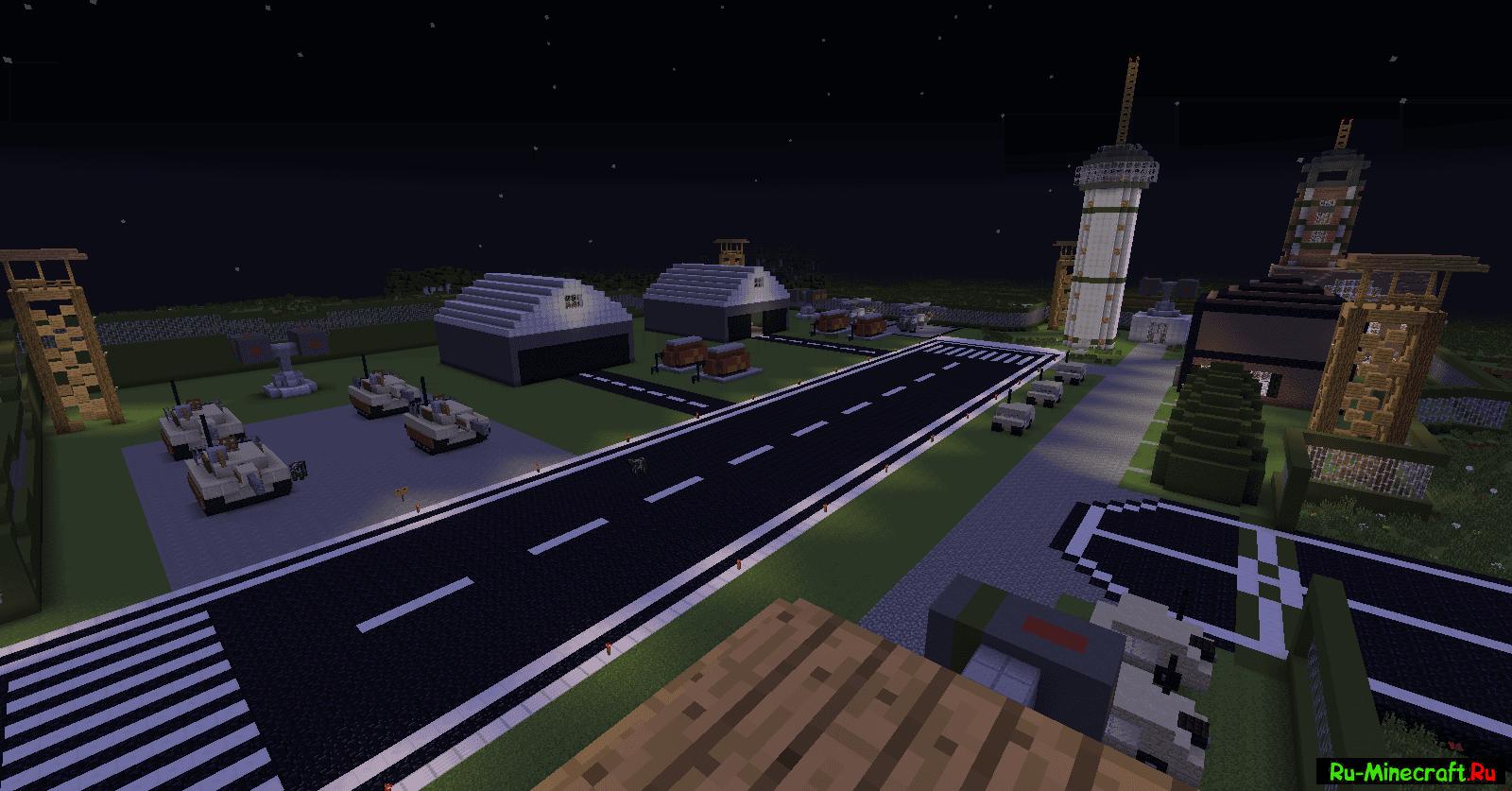 Скачать карту на военную базу на майнкрафт 1. 7. 10.