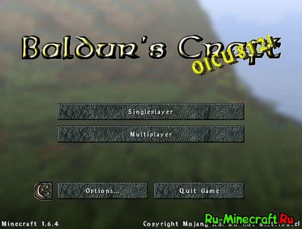 Baldur's Craft HD ресурспак по игре [1.11.2]