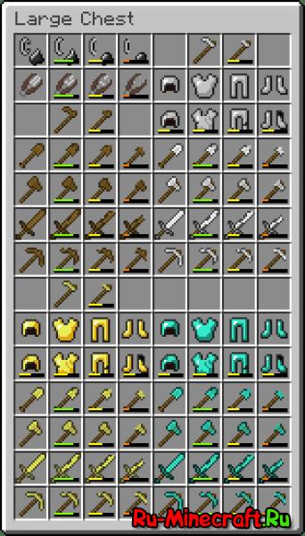 Damaged Items! - повреждённые предметы [1.11.X][16x]