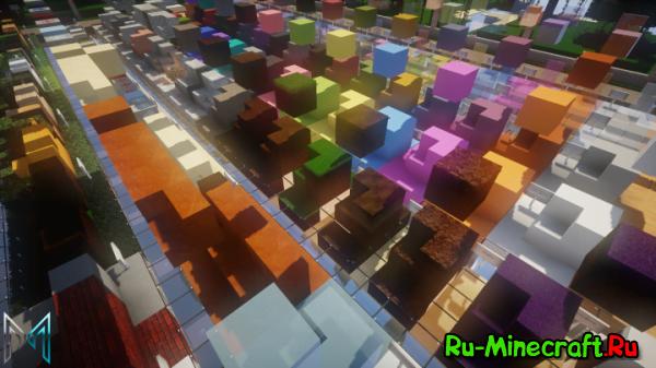 Mythris Modern Project - ресурспак для строительства [64x64][1.11.2]