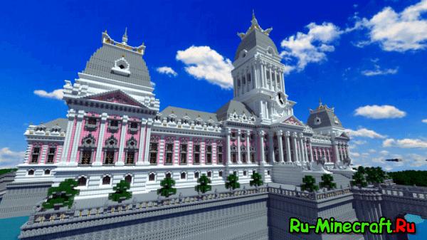 Dyanusia Palace - большой дворец во французском стиле [Map]