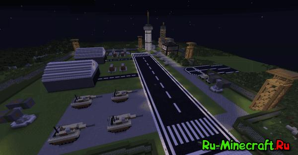 Military base - Военная База [1.7.2+][Map]