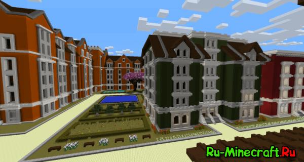 Upper Plaza - район с красивой архитектурой [Map]