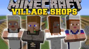 Villager Market - магазин в деревне [1.12.2] [1.11.2] [1.10.2]