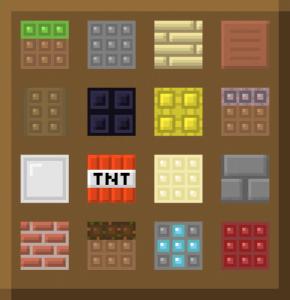 Shiny Pixels - простой ресурспак [1.11.2][16x16]