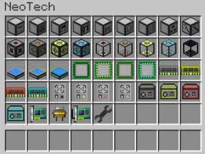 NeoTech - индустриальный мод [1.10.2] [1.9.4] [1.8.9]