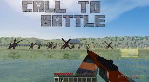 Call to battle - оружие и предметы второй мировой [1.7.10]