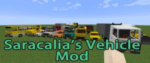 Saracalia's Vehicle Mod - машины для декорации [1.10.2] [1.8.9] [1.7.10]