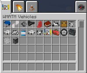 WMATM Vehicles - машины, мотоциклы +тюнинг [1.10.2] [1.9.4] [1.8.9]