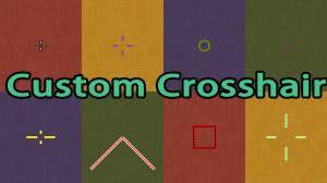 Custom Crosshair Mod - настраивай прицел [1.12.1] [1.11.2] [1.10.2] [1.9.4] [1.8.9] [1.7.10]