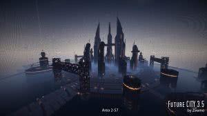 Future CITY - карта с городом из будущего [1.8+]