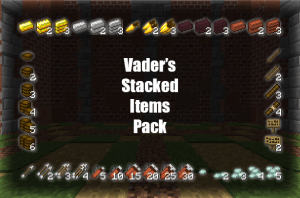 Vader's Stacked Items Pack - стакуемые вещи [1.11][16x]