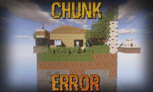 Chunk Error Map - карта с заданиями [1.11\1.11.2+]