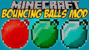Bouncing Balls - шары батуты [1.15.1] [1.14.4] [1.12.2] [1.11.2] [1.8.9] [1.7.10]