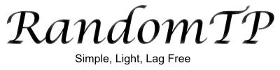 SRandomTP - Телепорт в случайную локацию [1.11]