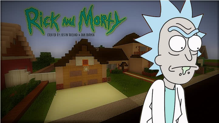 Rick and Morty House - Дом из мультсериала