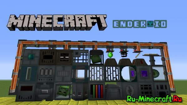 Ender IO - эндер ио, технический мод [1.10.2|1.9.4|1.8.9|1.7.10|1.7.2|1.6.4|1.5.2]