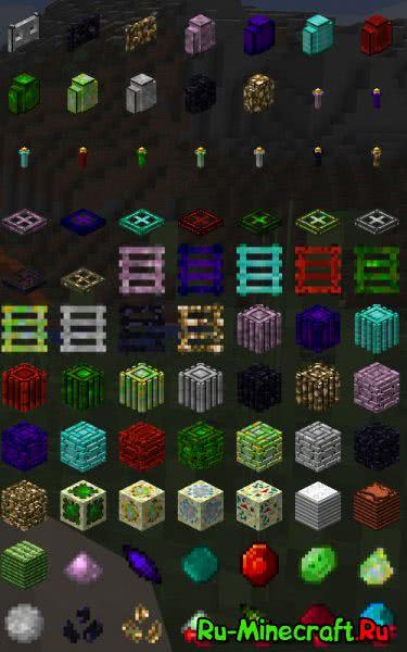 Ebon Arts Mod - декор, оружие, броня [1.11.2|1.10.2|1.9.4|1.8.9|1.7.10]