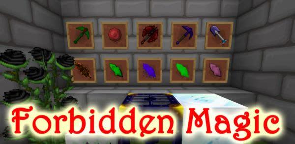 Forbidden Magic, магия, Апокрифы [1.7.10] [1.7.2] [1.6.4]