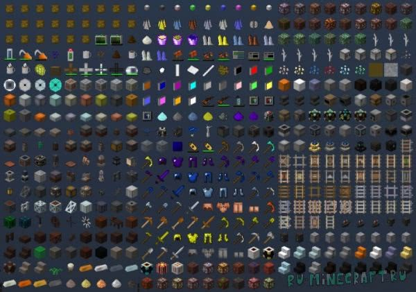 Soartex Fanver (Modded) - текстуры для модов[1.10.2|1.7.10][64px]