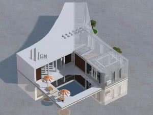 Huge modern villa - карта, гигантский дом [1.8+]