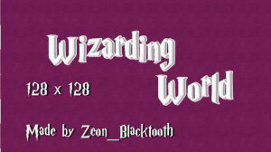 Wizarding World - Текстуры Гарри Поттера [1.12.2] [1.11.2] [128x]