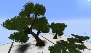 Tree Bundle - 370 вариантов деревьев [Карта]