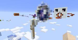 Sky Jumps - свежая паркур карта [1.11+]