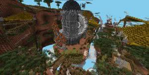 Mineplex Build Team - карта с деревушкой