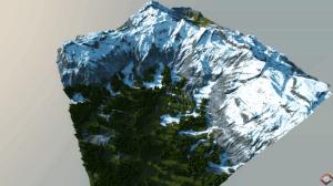 Карта Bismarck - огромные горы [1.10+]