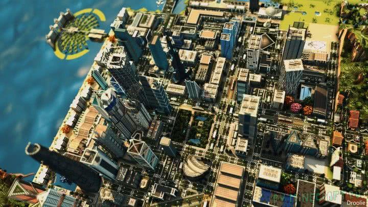 Майнкрафт скачать карту города на 1. 8.