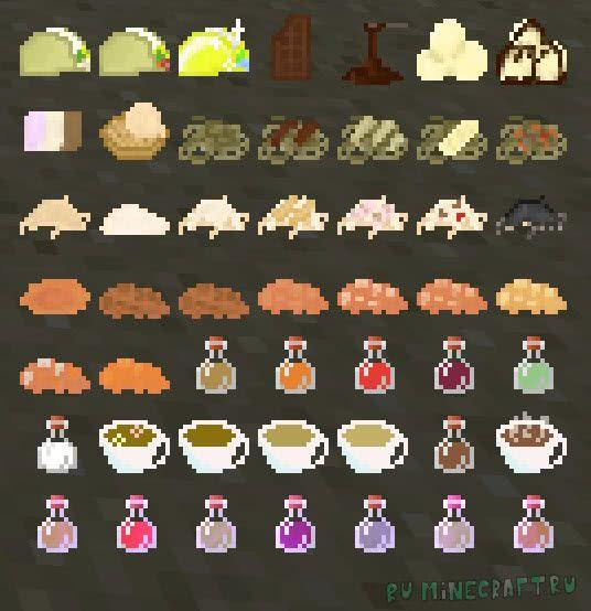 Bird's Foods - много еды [1.11.2|1.10.2|1.9.4|1.8]