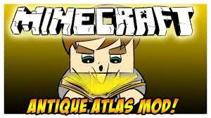 [1.6.4] Antique Atlas - новая карта в Minecraft!