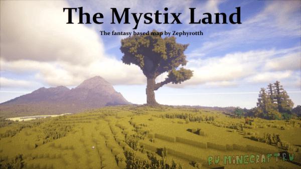 The Mystix Lands - мистическая карта 1.11+