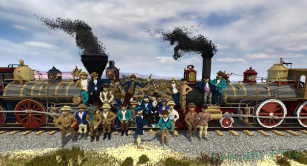 The Wedding of the Rails - карта 3d картина  [1.10+]