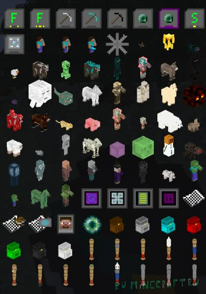CrystalMod - мод на кристаллы [1.11.2] [1.10.2] [1.7.10]