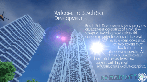 Beach Side Development - красивый город у воды [Map]