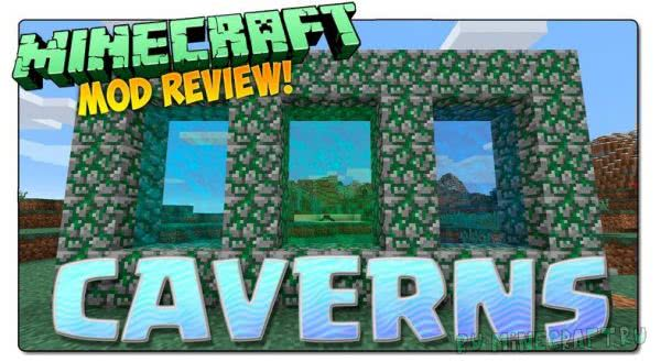 Cavern (Caveworld 2) [1.12.2] [1.11.2] [1.10.2] [1.9.4] [1.7.10]