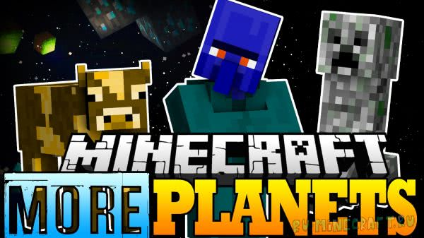 More Planets Mod - Аддон к Galacticraft [1.12.2] [1.11.2] [1.10.2] [1.8.9] [1.7.10]