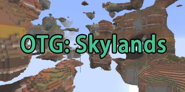 OTG: Skylands - генерация островов в небе [1.10.2]