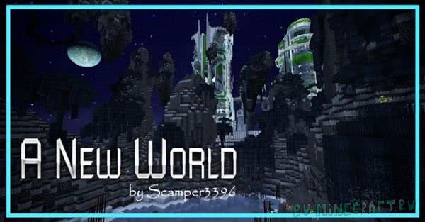 A New World - мрачный Sci-Fi [1.12] [1.11.2] [32x32]