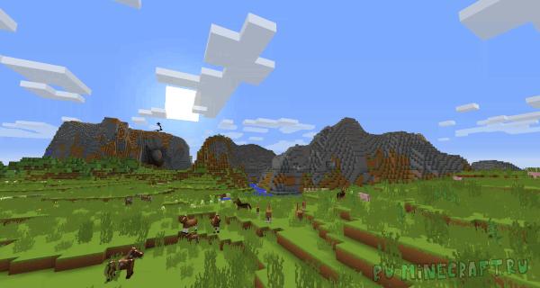 Minecraft Promo Art Pack - примитивный стиль [1.12.2] [1.11.2] [16x16]