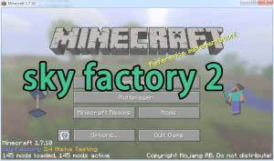 Сборка sky factory 2, скай фактори 2, индустрия [1.7.10]